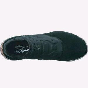 Reebok Shoes - NWT Reebok Furylite Black Suede Slip On FBT 92983fdb1